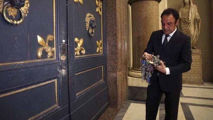 Gianni Crea, o responsável por abrir os Museus Vaticanos - EFE