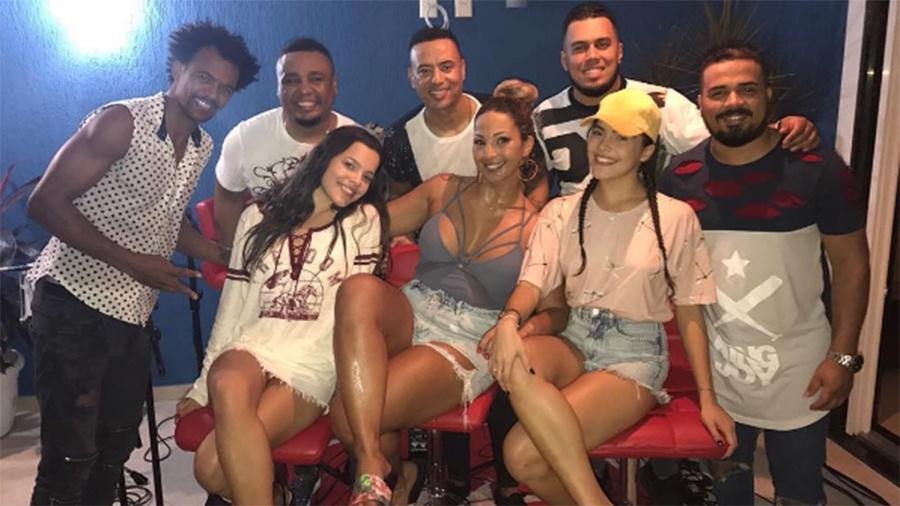 Valesca Popozuda recebe Emilly e Mayla em festinha na sua casa nova no Rio de Janeiro - Reprodução/Instagram