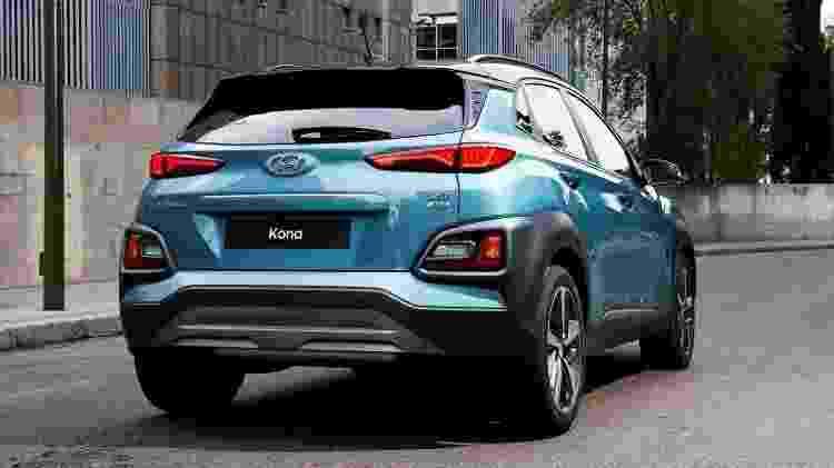 Hyundai Kona - Divulgação - Divulgação