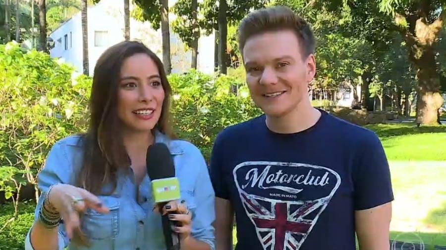 """Michel Teló fala sobre a família em entrevista ao """"Vídeo Show"""" - Reprodução/TV Globo"""