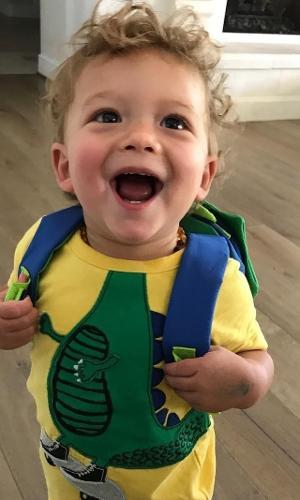 O baby ficou conhecido entre os brasileiros por vir assistir ao papai, o nadador norte-americano Michael Phelps, brilhar nas Olimpíadas do Rio, no ano passado. Mas, aparentemente, ele faz sucesso no resto do mundo também. Tanto que seu perfil, o @boomerrphelps, já conta com 796 mil seguidores. Isso com pouco mais de um ano de idade.