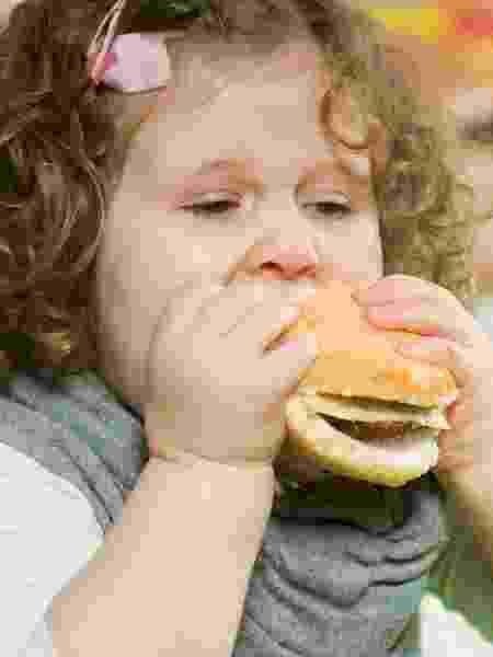 Criança obesa - iStock - iStock