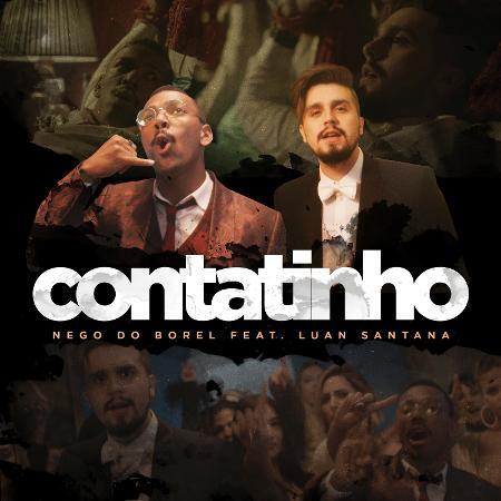 "Capa de ""Contatinho"", música de Nego do Borel e Luan Santana - Ari Kaye"