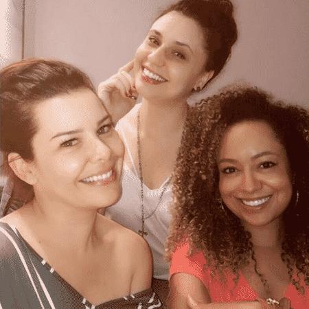 Fernanda Souza, Francis Helena e Aretha Oliveira - Reprodução/Instagram/aretha_aoliveira