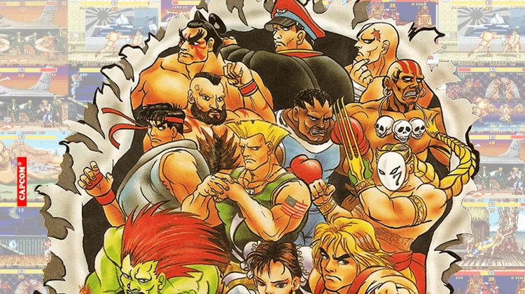 Street Fighter II transformou a série em um sucesso global. No início dos anos 90, era impossível não conhecer os personagens do jogo. - Reprodução