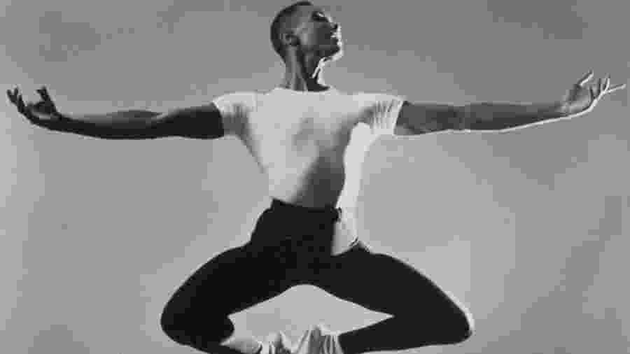 O bailarino Arthur Mitchell - Reprodução