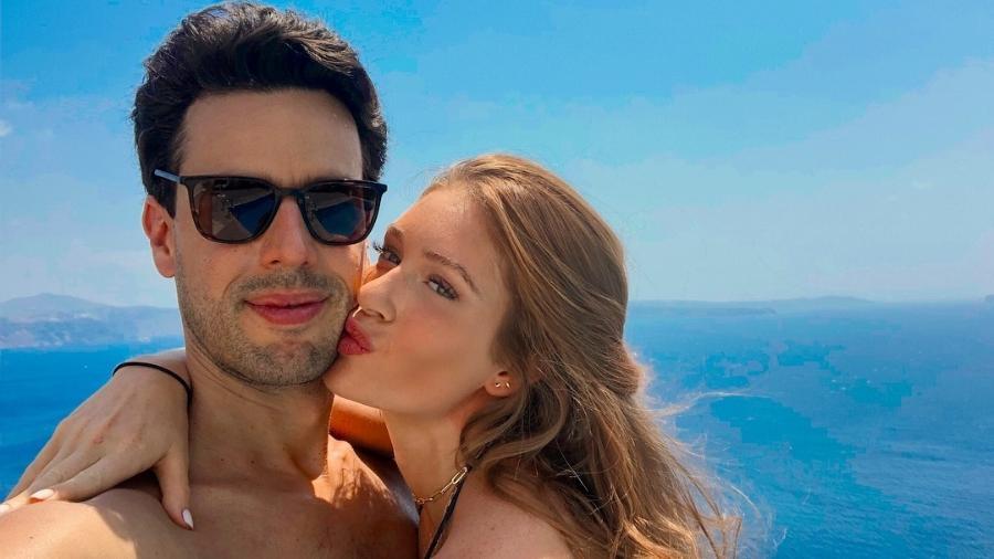 Marina Ruy Barbosa e Xandinho Negrão em viagem à Grécia - Reprodução/Instagram/marinaruybarbosa