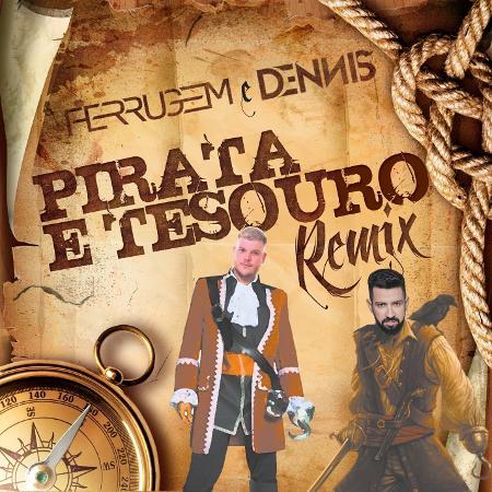 """Capa do single """"Pirata e o Tesouro"""" - Divulgação"""