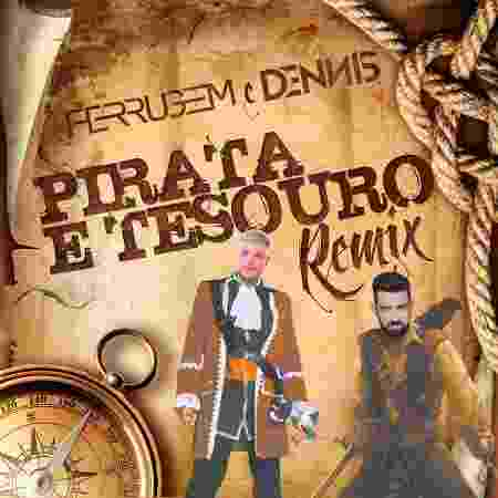 "Capa do single ""Pirata e o Tesouro"" - Divulgação"