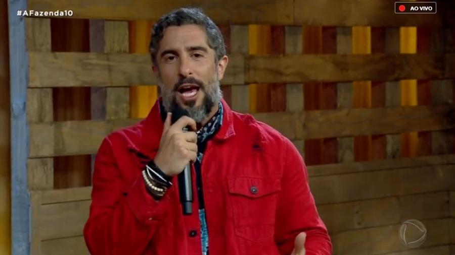 Marcos Mion revela as opções para a chama vermelha - Reprodução/RecordTV