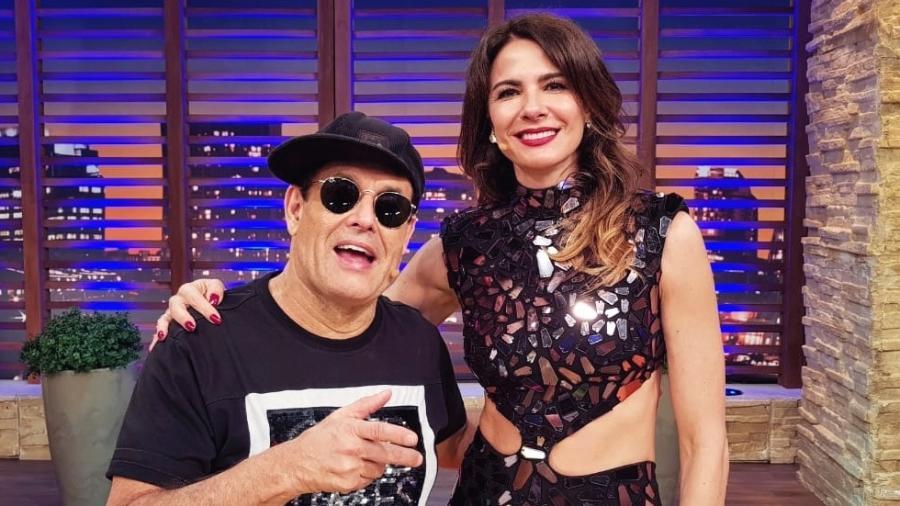 """Luciana Gimenez vai receber Sérgio Mallandro no """"Luciana by Night"""" - Divulgação"""