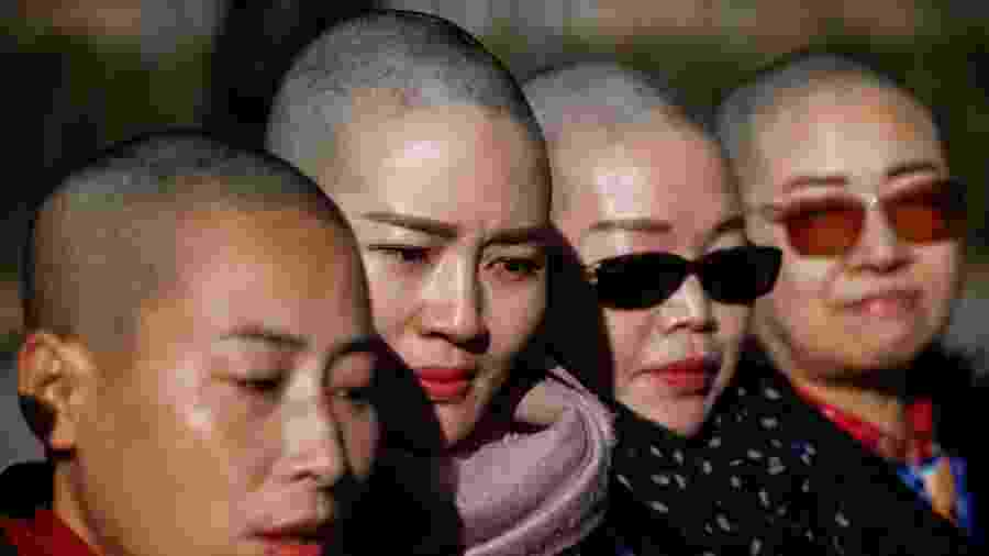 Yuan Shanshan, Li Wenzu, Liu Ermin e Wang Qiaoling - Reuters