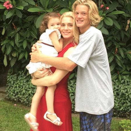 Marcello Novaes posta foto de Leticia Spiller com Pedro e Stella - Reprodução/Instagram