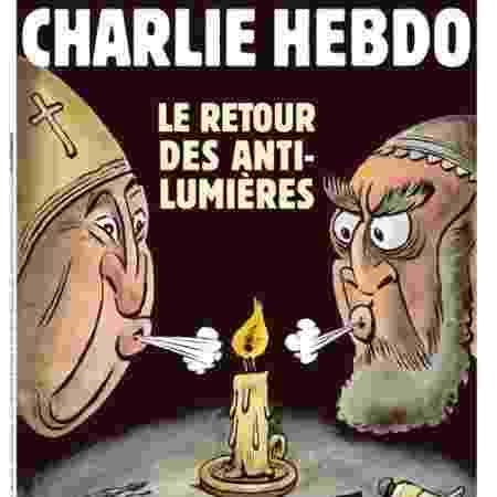 Capa da edição especial do jornal satírico francês Charlie Hebdo - Divulgação