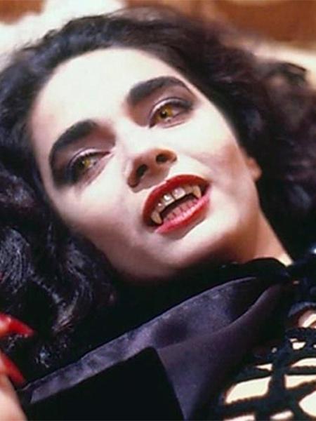 """Claudia Ohana fez muito sucesso como a vampira Natasha em """"Vamp"""" (1991) - Reprodução"""
