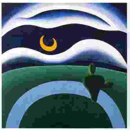 """Obra """"A Lua"""", de Tarsila do Amaral - Reprodução - Reprodução"""
