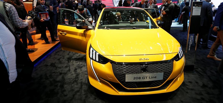 Peugeot 208 GT Line 2020 - Denis Balibouse/Reuters
