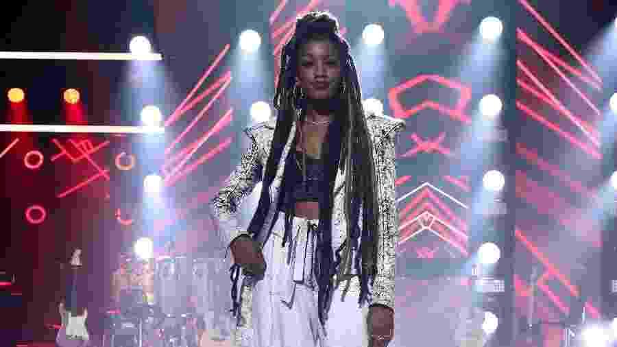 A cantora Iza, nova jurada do The Voice Brasil e apresentadora do Música Boa no Multishow - Roberto Filho/Brazil News