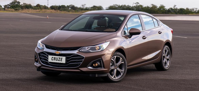 Chevrolet Cruze Premier 2020 estreia terceira geração da central multimídia e oferece internet a bordo - Divulgação