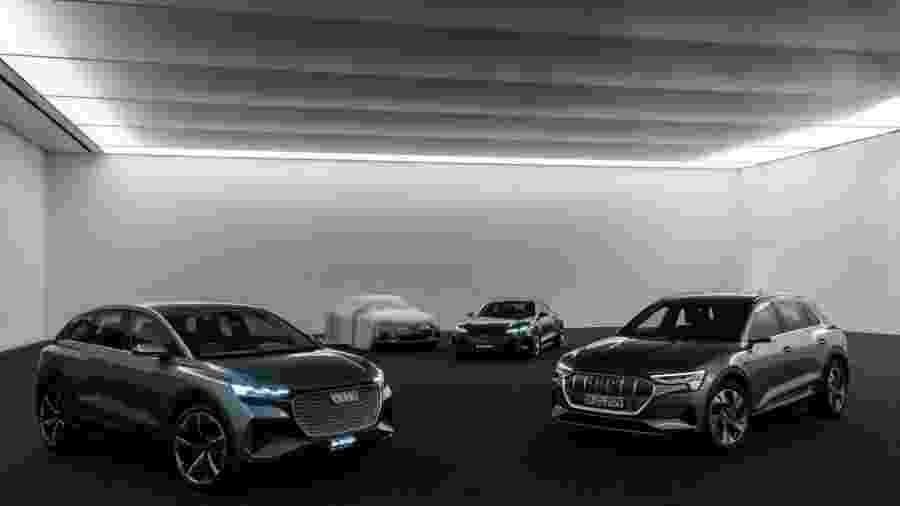 Audi revela teaser de novo conceito elétrico - Divulgação