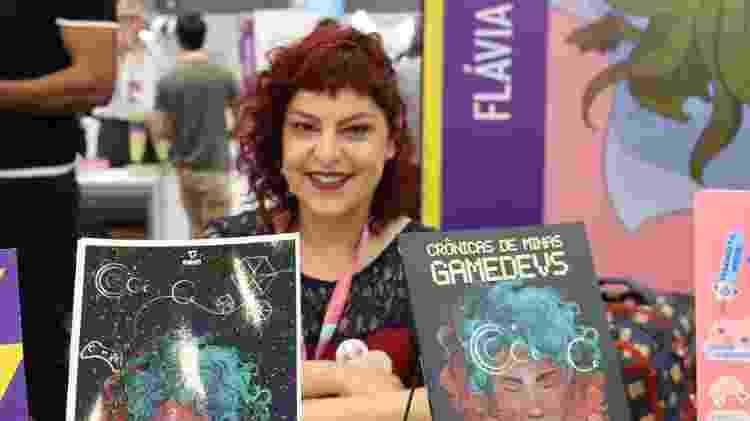 Minas Gamedevs Flávia - Giovanna Breve/UOL - Giovanna Breve/UOL