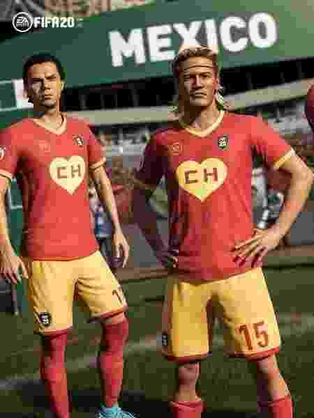 FIFA 20 lança uniforme de Chapolin Colorado - Divulgação