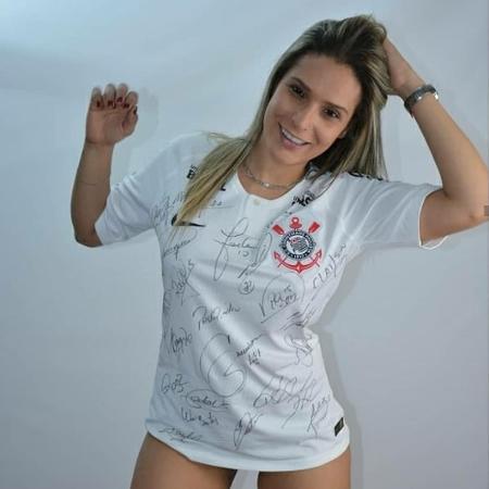 Fernanda Lippi ganhou concurso de musa do Corinthians em 2018 - Arquivo pessoal