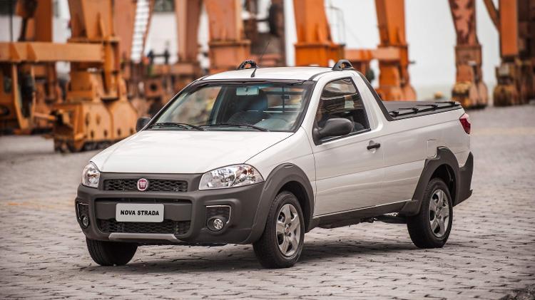 Fiat Strada Working Cabine Simples - Divulgação - Divulgação