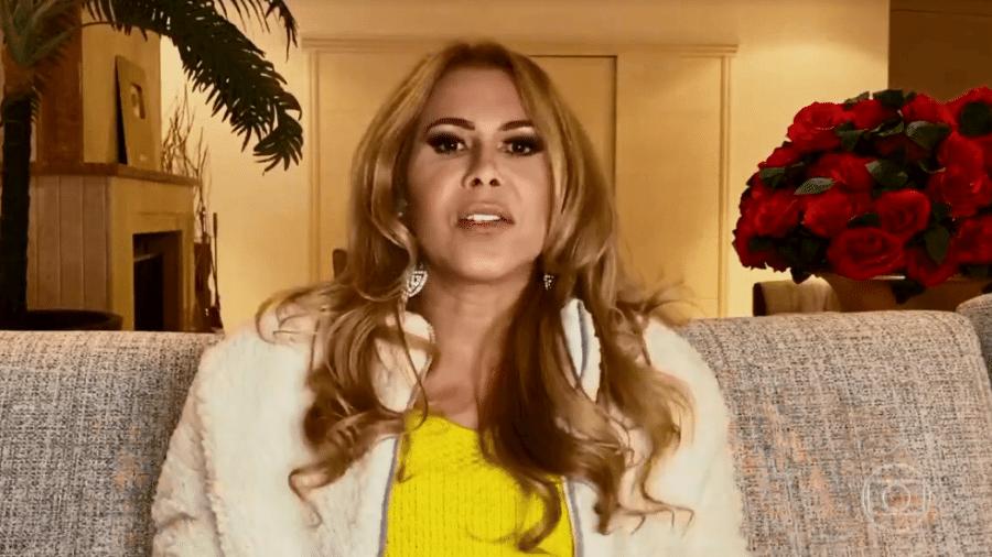 Joelma falou sobre agressão do ex-marido - Reprodução/TV Globo