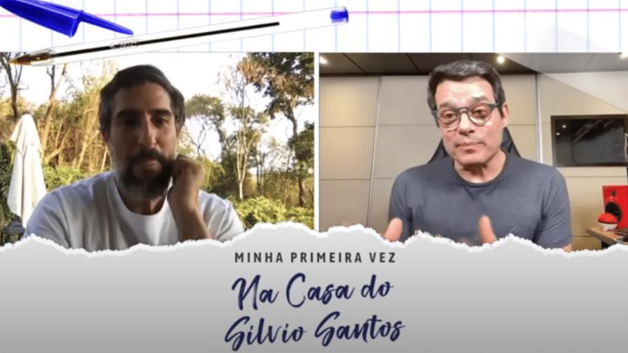 """Em vídeo sobre """"primeiras vezes"""", Portiolli contou também sobre sua única visita a casa de Silvio Santos - Reprodução/Youtube/Marcos Mion"""