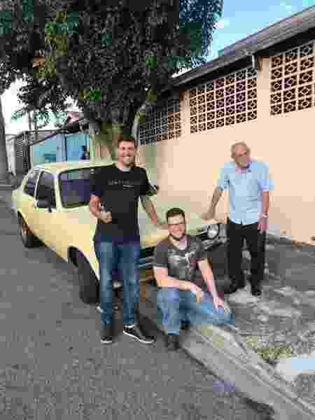 Chevette País Tropical Rafael Finardi antigo dono - Arquivo pessoal - Arquivo pessoal