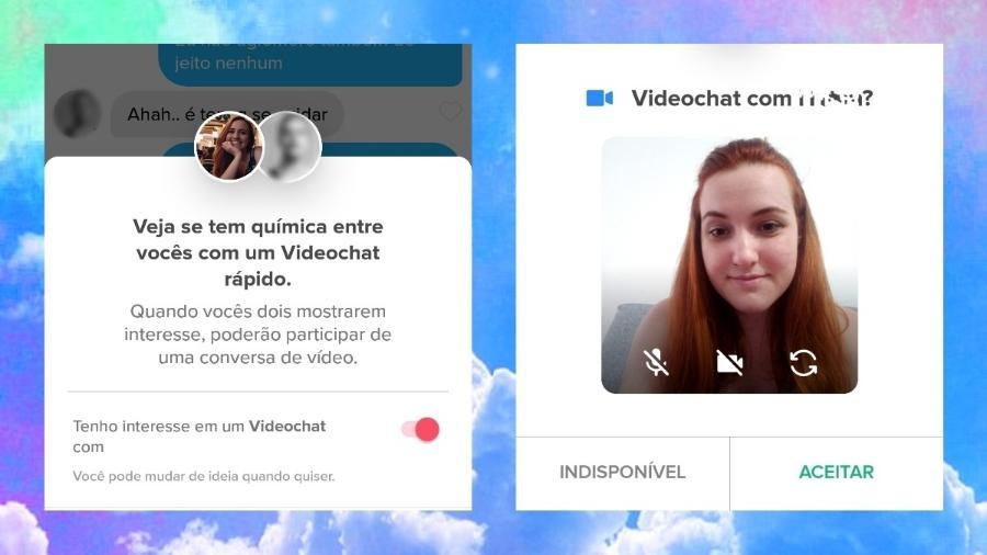 O recurso de videochat foi lançado no final de outubro - UOL