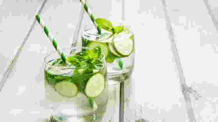 drink pepino, hortelã - iStock - iStock