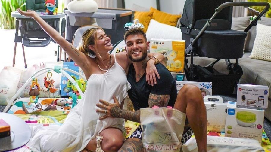 Lorena Carvalho e Lucas Lucco - Reprodução/Instagram @lucaslucco
