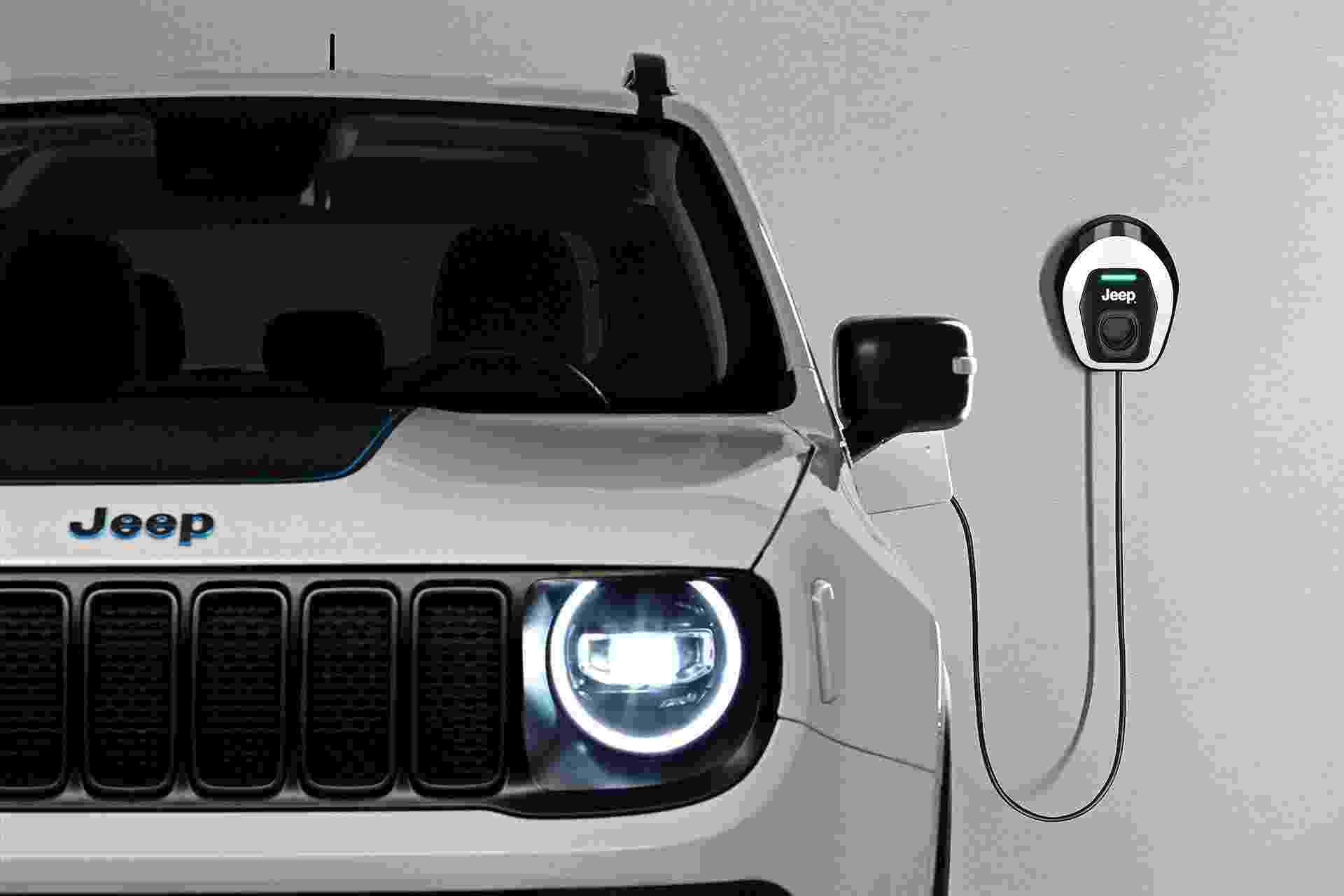 Jeep Renegade 4xe - Divulgação