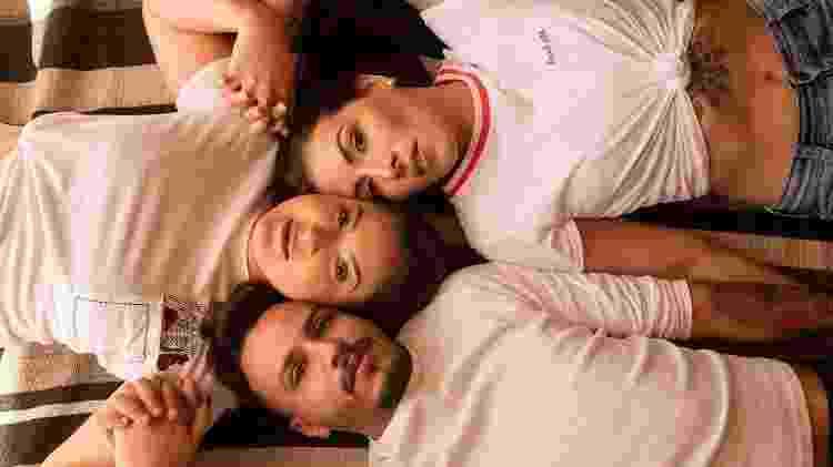Sanny, Karina e Diego sonham em ter um filho juntos - Giovana Karime - Giovana Karime
