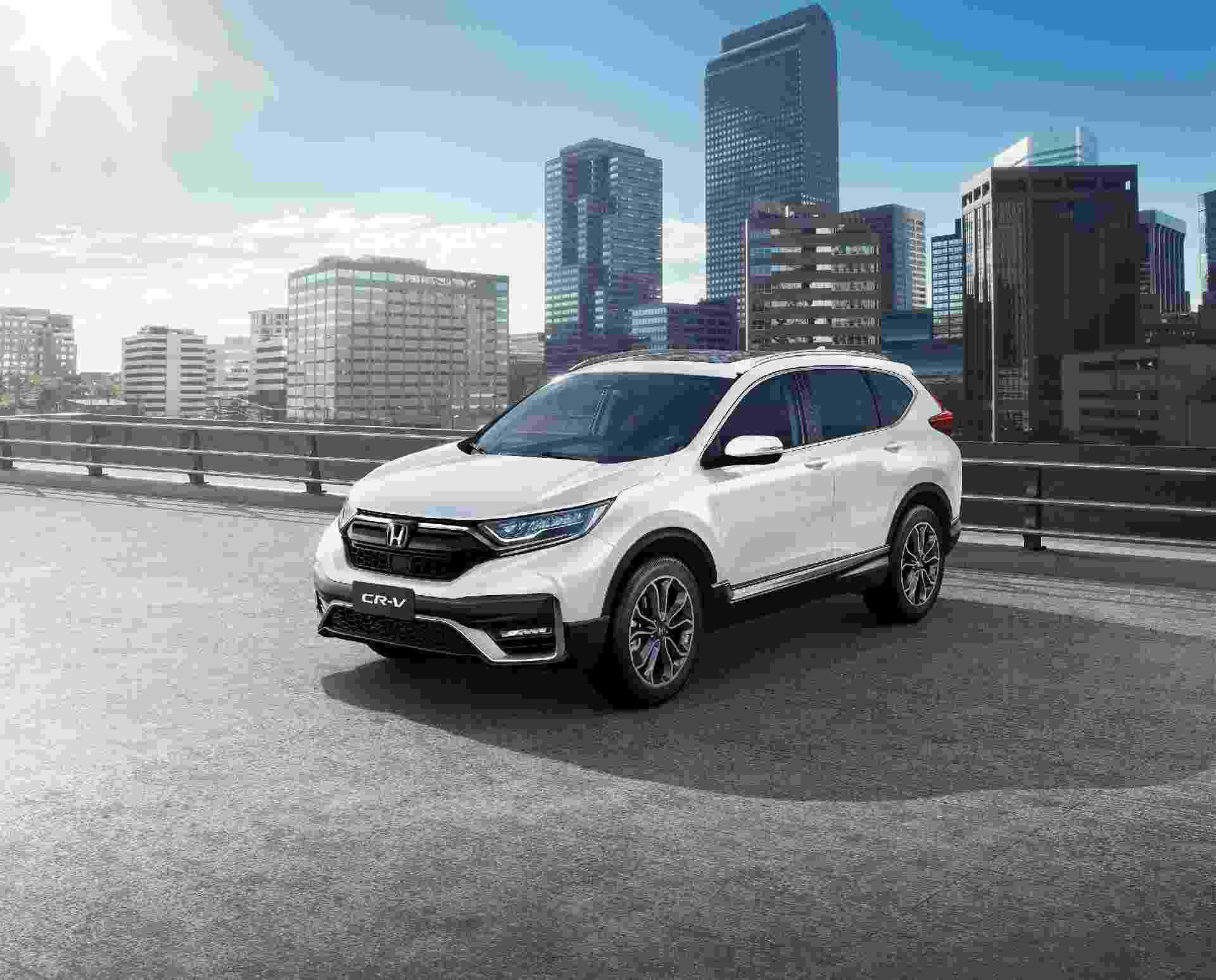 Novo Honda CR-V 2021 - Divulgação