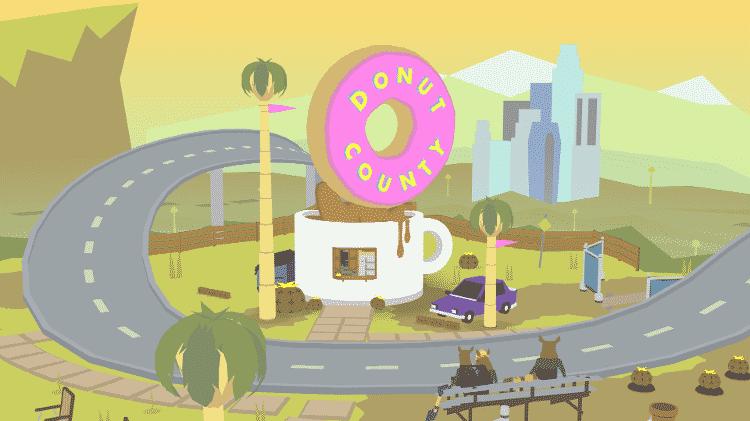 Donut County - Reprodução/Donut County - Reprodução/Donut County