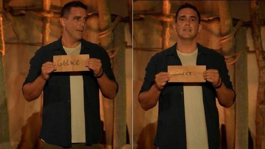 No Limite: Participantes erram nome de Gleici - Reprodução/TV Globo