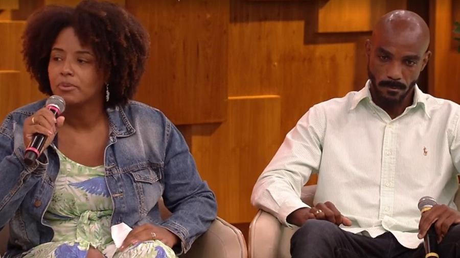 Pais da designer Kathlen Romeu - Reprodução/TV Globo