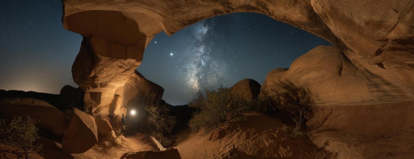 Caverna em Utah, nos Estados Unidos  - Daniel Zafra