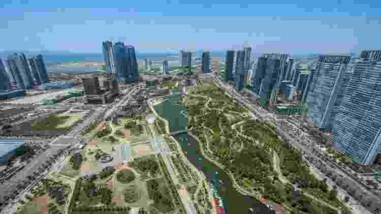 O parque central é a principal atração da cidade - Getty Images - Getty Images