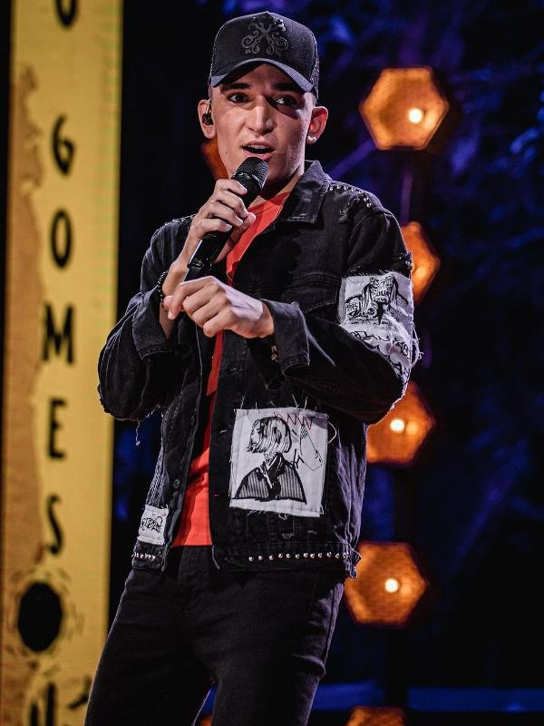 João Gomes começou a cantar há pouco mais de três meses e é hoje o artista mais ouvido do país