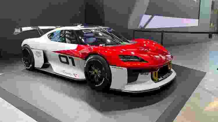Porsche Mission R Salão de Munique IAAA - Ricardo Ribeiro/UOL - Ricardo Ribeiro/UOL