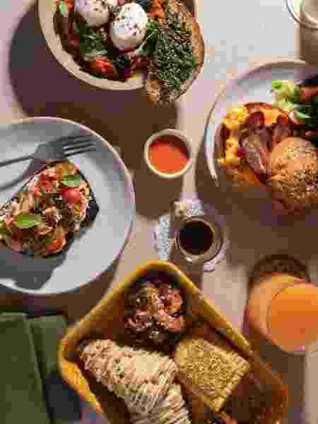 Café da manhã do Shoml, restaurante do Hotel Magdalena - Jessica Attie - Jessica Attie