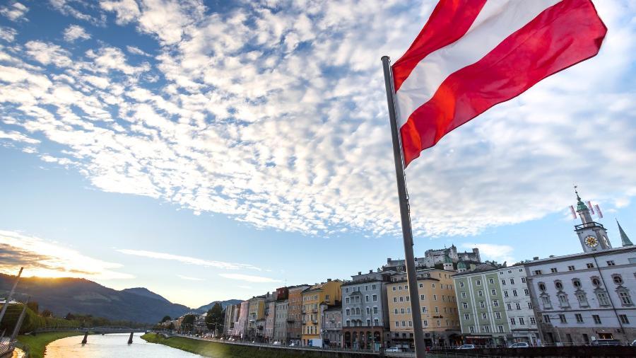 Salzburgo, na Aústria: Brasil está na lista de países com proibição de entrada - Getty Images/iStockphoto