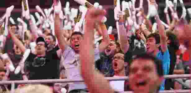 Final do maior torneio de eSport do Brasil atrai milhares de fãs para ver os pro players duelarem. - Reinaldo Canato/UOL