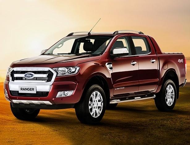 Ford Ranger que será vendida no Brasil tem o mesmo desenho que a europeia - Divulgação