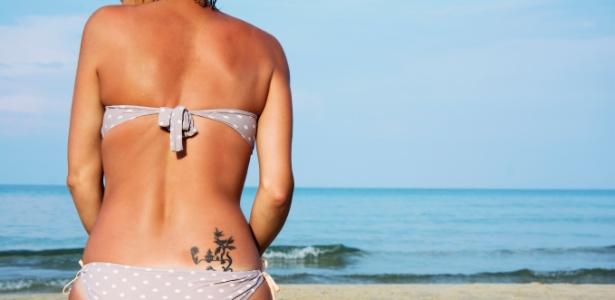 Tatuagem requer cuidados especiais para continuar bonita durante o verão - Getty Images
