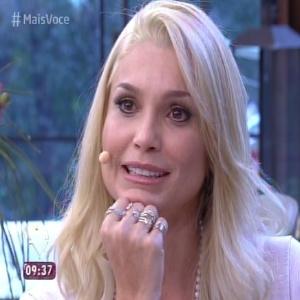 """Flávia Alessandra se emocionou com depoimentos no """"Mais Você"""" - Reprodução/Globo"""